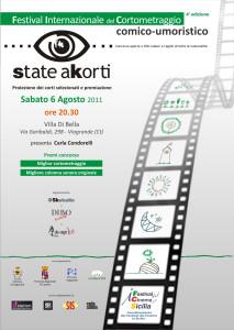 Locandina State Akorti 2011